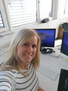 Nicole Büroalltag